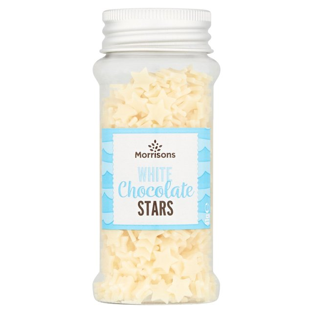Morrisons White Chocolate Stars Sprinkle