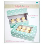 Baked With Love 6 Cup Cake Or 12 Fairy Cake Boxes