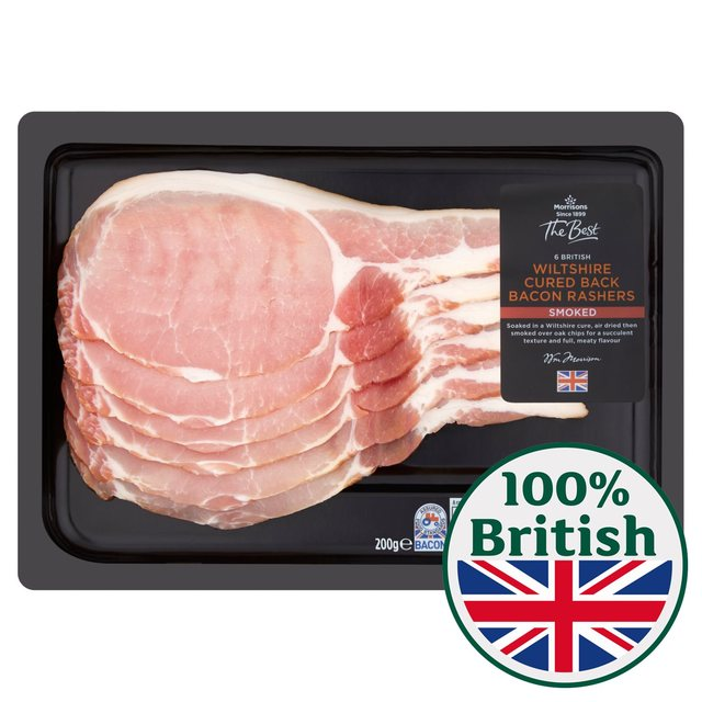 Morrisons The Best Wiltshire Smoked Bacon