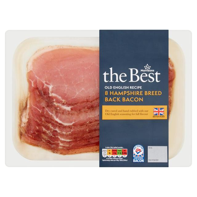 Morrisons The Best Old Fashion Cure Bacon