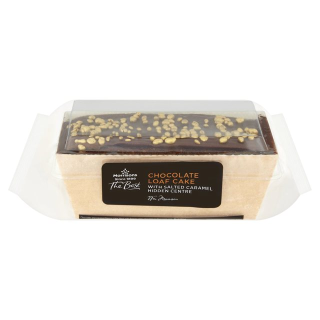 Morrisons The Best Chocolate & Caramel Loaf Cake