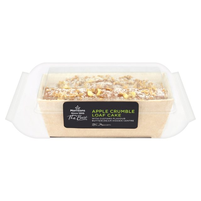 Morrisons The Best Apple Crumble Loaf Cake