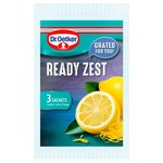Dr. Oetker Ready to Use Lemon Zest Sachets