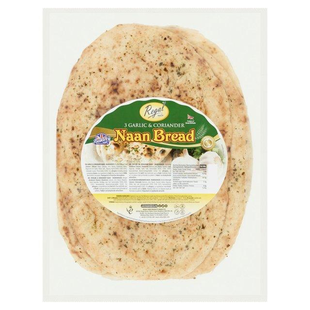 Regal Large Garlic And Coriander Naan