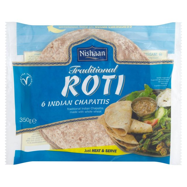 Nishaan Traditional Roti Indian Chapattis