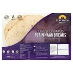 The Clay-Oven Bakery Plain Naan Bread