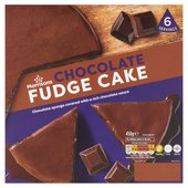 Morrisons Chocolate Fudge Frozen Cake