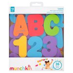 Lindam Munchkin Letters & Numbers Bath Accessories