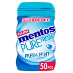 Mentos Gum Fresh Mint with Green Tea Extract