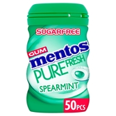 Mentos Gum Bottle Spearmint
