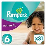 Pampers Active Fit Size 6 Economy Pack