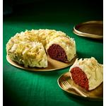 Morrisons White Chocolate & Raspberry Crown