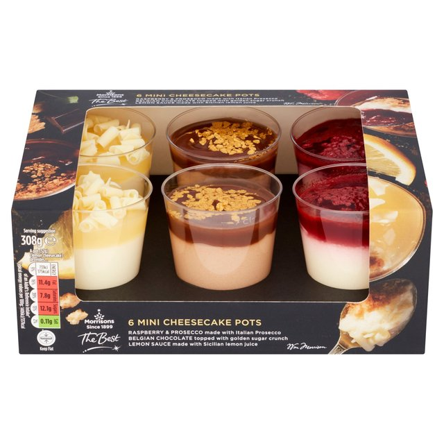 Morrisons The Best Mini Cheesecake Pots