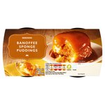 Morrisons Banoffee Sponge Pudding