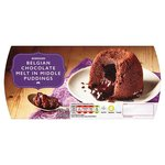 Morrisons Belgian Chocolate Melt In Middle Pudding