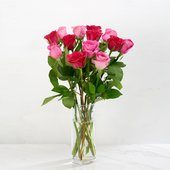 Morrisons  Pink Rose Bouquet