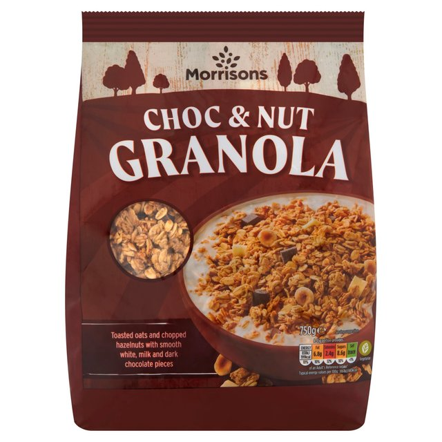 Morrisons Chocolate & Nut Granola