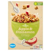 Morrisons Apple & Cinnamon Crisp Granola