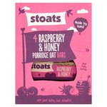Stoats Raspberry & Honey Oat Bars 4Pk