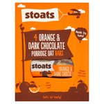 Stoats Orange & Chocolate Oat Bars 4Pk