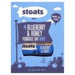 Stoats Blueberry & Honey Oat Bars 4Pk
