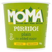 Moma Porridge Plain No Added Sugar