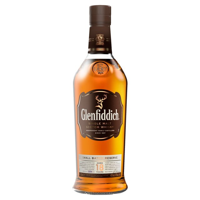 Glenfiddich 18 Year Old Scotch Whiskey