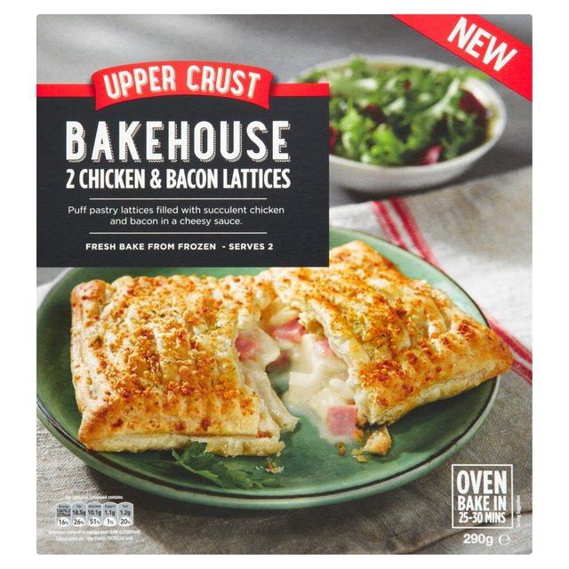 Uppercrust Chicken & Bacon Lattices