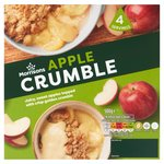 Morrisons Apple Crumble