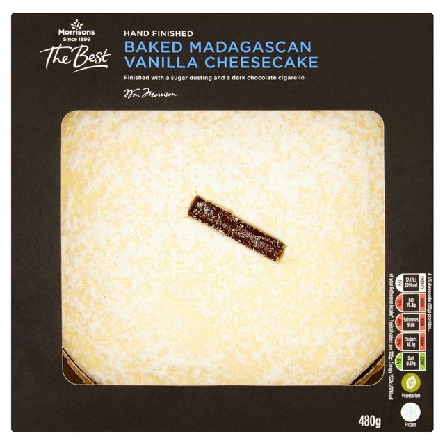 Morrisons The Best Baked Madagascan Vanilla Cheesecake
