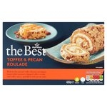 Morrisons The Best Toffee & Pecan Roulade