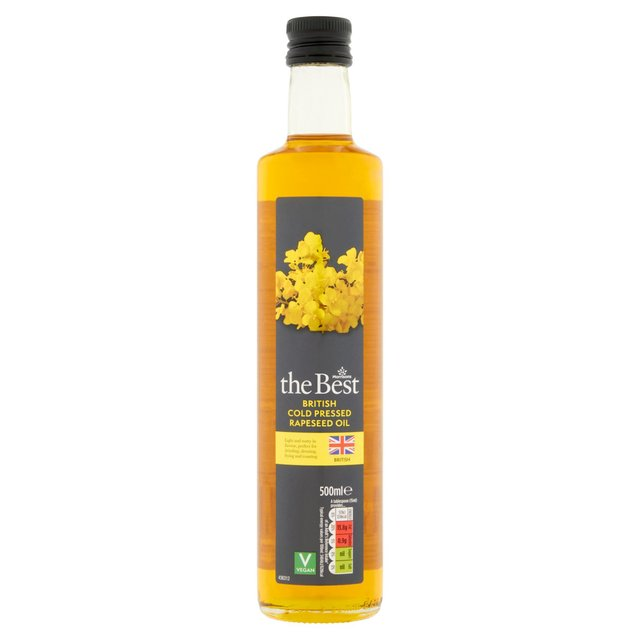 Morrisons The Best Cold Pressed Rapeseed Oil