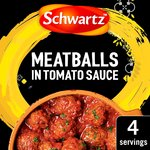 Schwartz Meatballs in Tomato Sauce Recipe Mix