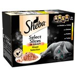 Sheba Select Slices Poultry Collection in Gravy