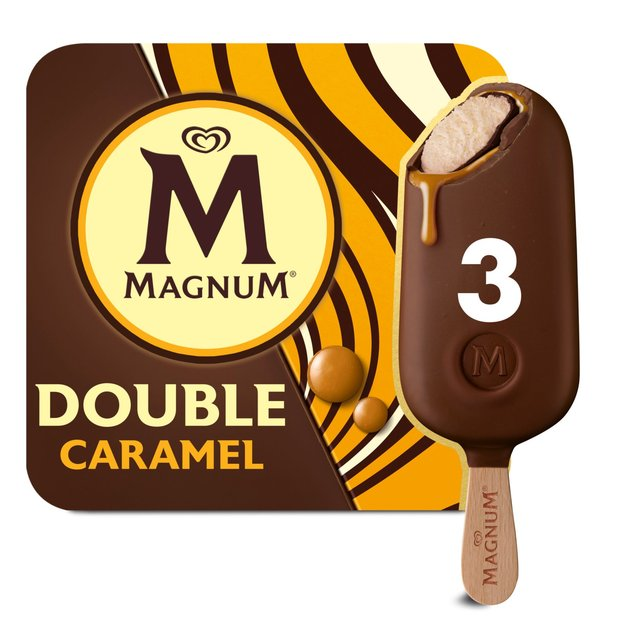 Magnum Double Caramel Ice Cream  Sticks