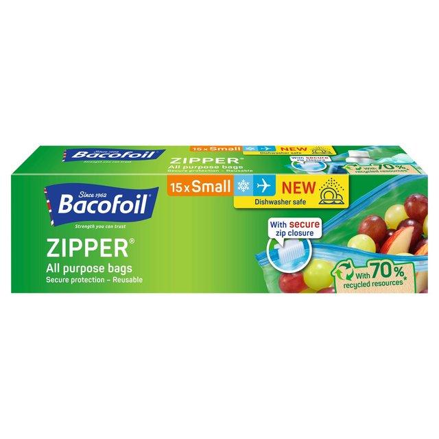6f5d6a49933a Morrisons: Bacofoil All Purpose Zipper Bags 15 per pack(Product ...