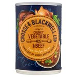 Crosse & Blackwell Best of British Chunky Vegetable & Beef Soup