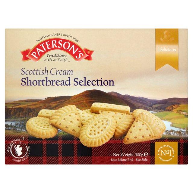 Patersons Scottish Cream Shortbread Selection
