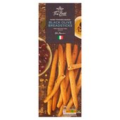 Morrisons The Best Black Olive Bread Sticks