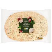 Morrisons Garlic & Herb Flatbread