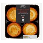 Morrisons The Best 4 Beef Dripping Yorkshire Puddings