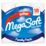 Mega Soft Toilet Tissue