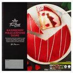 Morrisons The Best Raspberry & Mascarpone Dome Gateau