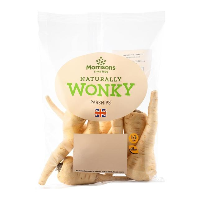 Morrisons Wonky Parsnips