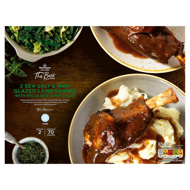 Morrisons The Best Lamb Shanks In Rioja Wine Sauce