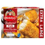 Birds Eye 2 Battered Extra Large Fish Fillets
