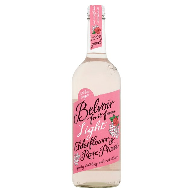 Belvoir Fruit Farms Light Elderflower & Rose Presse