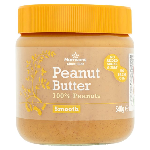 Morrisons 100% Smooth Peanut Butter