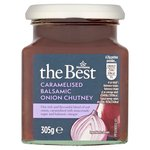 Morrisons The Best Caramelised Balsamic Onion Chutney