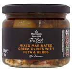 Morrisons The Best Mixed Marinated Greek Olives with Feta & Herbs